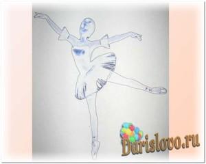 схема балерины-снежинки