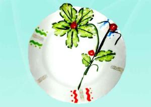 украшения блюд из овощей