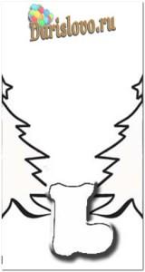 схема для гирлянды из бумаги