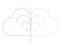 схема плетеного сердечка из бумаги