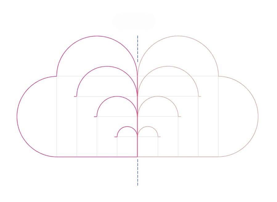 схема плетеного сердечка из