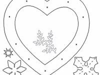 схема валентинки из бумаги